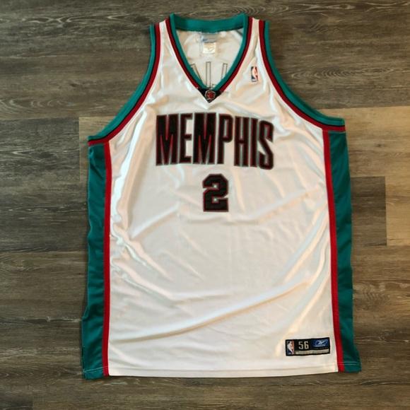 newest f1f5d 9f57a Memphis Grizzlies Vintage NBA Jersey by Reebok